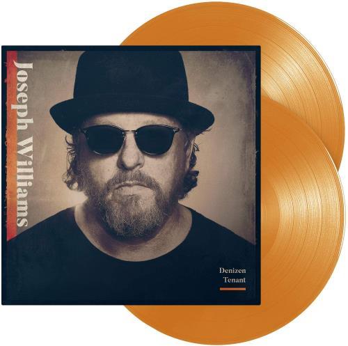 Joseph Williams Denizen Tenant - Orange Vinyl - Sealed 2-LP vinyl record set (Double Album) UK 3Q22LDE764331