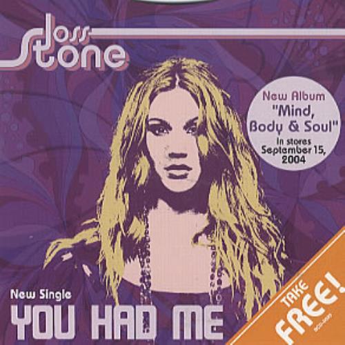 "Joss Stone You Had Me CD single (CD5 / 5"") Japanese JSEC5YO312474"