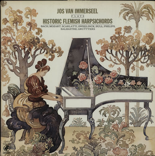 Jos Van Immerseel Historic Flemish Harpsichords vinyl LP album (LP record) US K7SLPHI638990