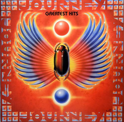 Journey Greatest Hits - Remastered - 180g 2-LP vinyl record set (Double Album) UK JOU2LGR763832