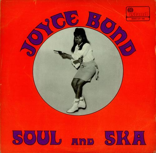 Joyce Bond Blues And Ska vinyl LP album (LP record) UK JYBLPBL451046