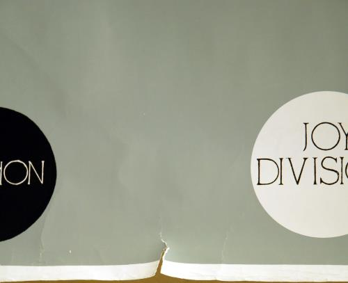 Joy Division An Ideal For Living - The History Of Joy Division poster UK JOYPOAN643312