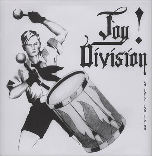 """Joy Division An Ideal For Living EP - Orange 7"""" vinyl single (7 inch record) US JOY07AN392981"""