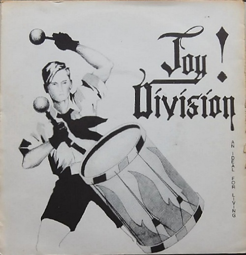"""Joy Division An Ideal For Living EP 7"""" vinyl single (7 inch record) UK JOY07AN138759"""