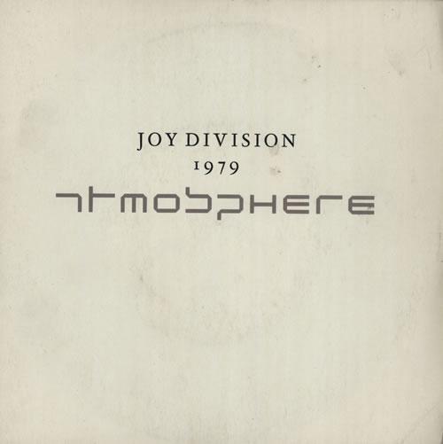 "Joy Division Atmosphere - EX 7"" vinyl single (7 inch record) UK JOY07AT574780"