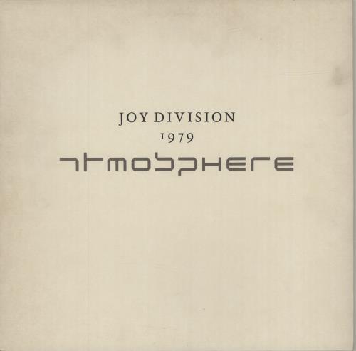 "Joy Division Atmosphere 12"" vinyl single (12 inch record / Maxi-single) UK JOY12AT108831"