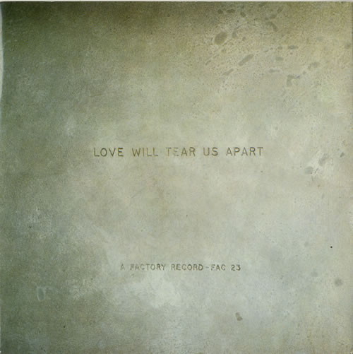 "Joy Division Love Will Tear Us Apart - 1st - EX 7"" vinyl single (7 inch record) UK JOY07LO24884"