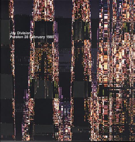 Joy Division Preston 28 February 1980 vinyl LP album (LP record) Italian JOYLPPR373052