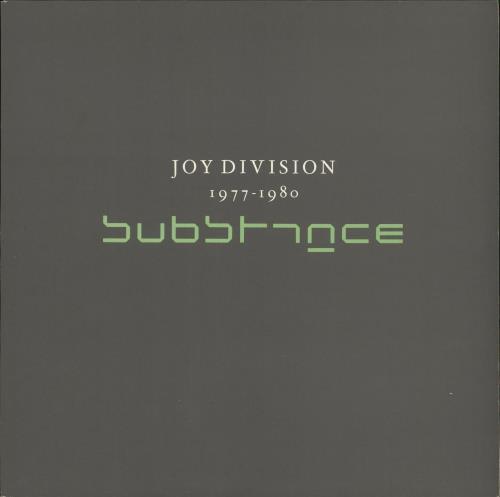 Joy Division Substance 1977-1980 - EX vinyl LP album (LP record) UK JOYLPSU573709