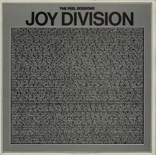 "Joy Division The Peel Sessions - EX 12"" vinyl single (12 inch record / Maxi-single) UK JOY12TH577774"