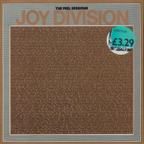 "Joy Division The Peel Sessions - textured sleeve 12"" vinyl single (12 inch record / Maxi-single) UK JOY12TH129186"