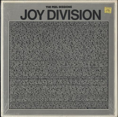 "Joy Division The Peel Sessions 12"" vinyl single (12 inch record / Maxi-single) UK JOY12TH69557"