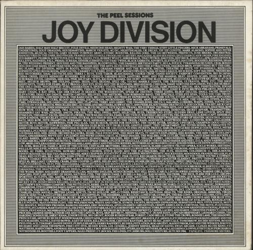 "Joy Division The Peel Sessions 12"" vinyl single (12 inch record / Maxi-single) UK JOY12TH69557"