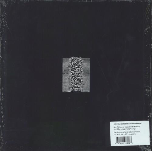 Joy Division Unknown Pleasures - 180gm vinyl LP album (LP record) UK JOYLPUN767488