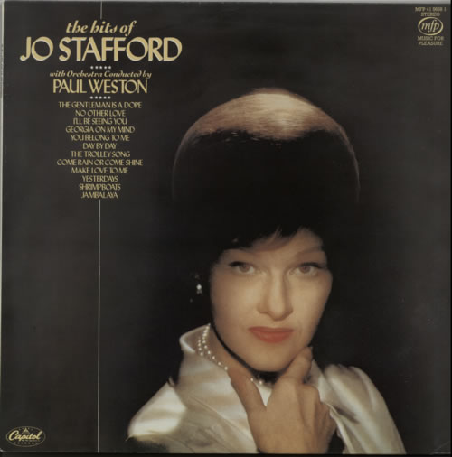 Jo Stafford The Hits Of vinyl LP album (LP record) UK JS0LPTH624298