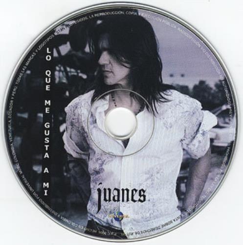 """Juanes Lo Que Me Gusta A Mi CD single (CD5 / 5"""") Colombian J-UC5LO352652"""
