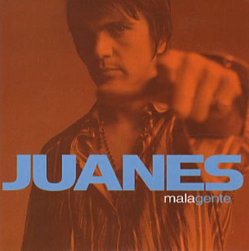 "Juanes Mala Gente CD single (CD5 / 5"") Mexican J-UC5MA328788"