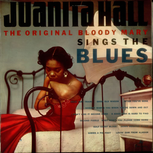 Juanita Hall Sings The Blues vinyl LP album (LP record) UK 1JHLPSI544329