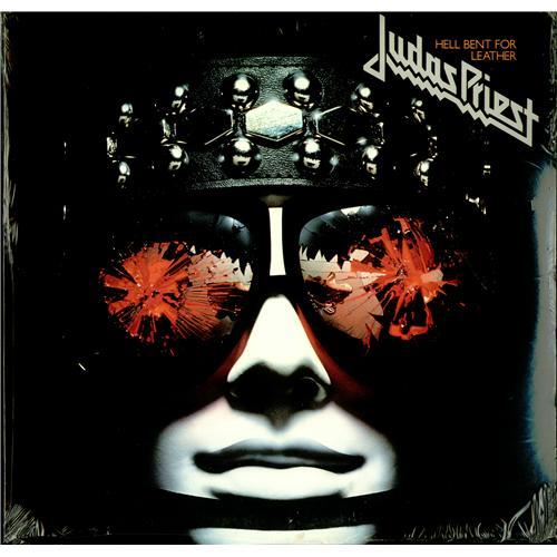 Judas Priest Hell Bent For Leather Sealed Us Vinyl Lp