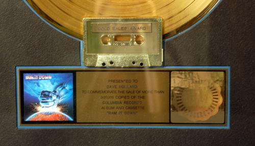 Judas Priest Ram It Down award disc US JUDAWRA644794