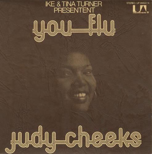 "Judy Cheeks You Flu 7"" vinyl single (7 inch record) French JCH07YO405712"
