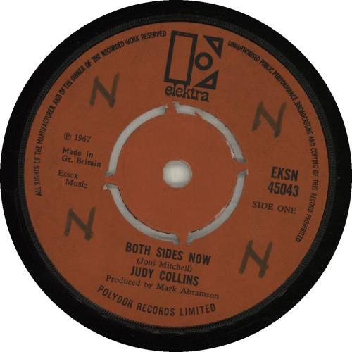 """Judy Collins Both Sides Now - 1st - WOL 7"""" vinyl single (7 inch record) UK JUC07BO569131"""