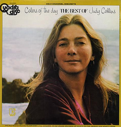 Judy Collins Colors Of The Day - The Best Of Judy Collins - Quad vinyl LP album (LP record) US JUCLPCO285725