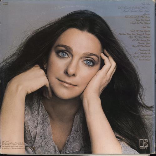Judy Collins Judith vinyl LP album (LP record) US JUCLPJU772918