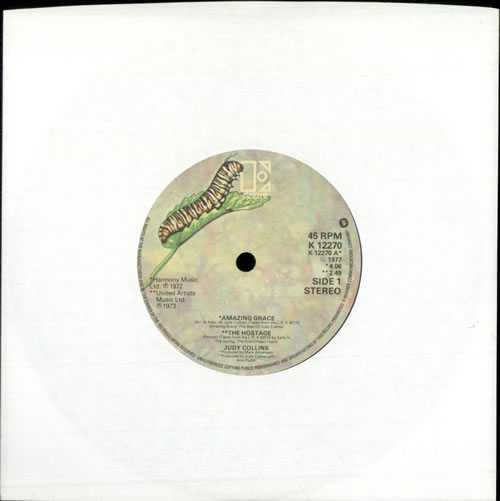 "Judy Collins Judy Collins EP 7"" vinyl single (7 inch record) UK JUC07JU511323"