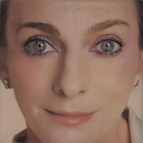 Judy Collins Running For My Life vinyl LP album (LP record) UK JUCLPRU659883