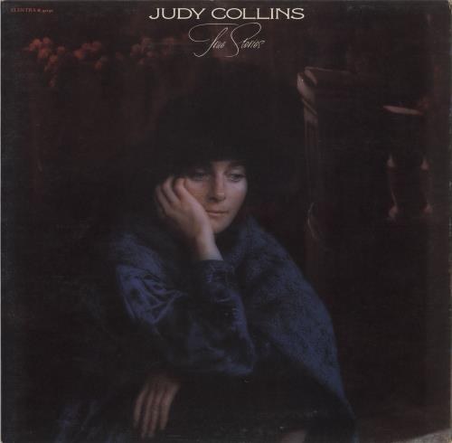 Judy Collins True Stories And Other Dreams + Inner vinyl LP album (LP record) UK JUCLPTR707588
