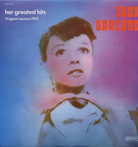 Judy Garland Her Greatest Hits vinyl LP album (LP record) French JGLLPHE337128