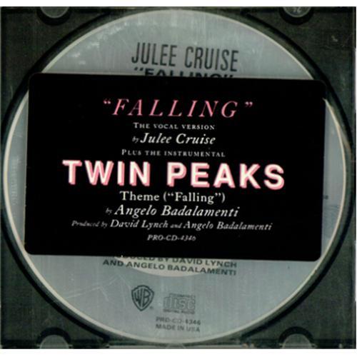 "Julee Cruise Fallin CD single (CD5 / 5"") US JLCC5FA106790"
