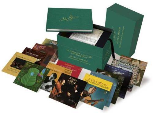 Julian Bream Classical Guitar Anthology - The Complete RCA Album Collection CD Album Box Set UK JU3DXCL747234