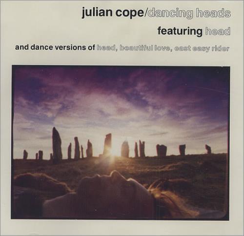 "Julian Cope Dancing Heads CD single (CD5 / 5"") US COPC5DA46647"