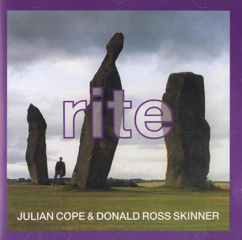Julian Cope Rite CD album (CDLP) UK COPCDRI557424