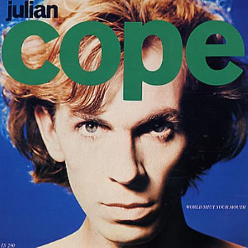 """Julian Cope World Shut Your Mouth 7"""" vinyl single (7 inch record) UK COP07WO61486"""