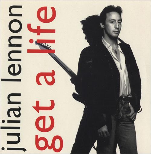 "Julian Lennon Get A Life 7"" vinyl single (7 inch record) UK JLN07GE104697"