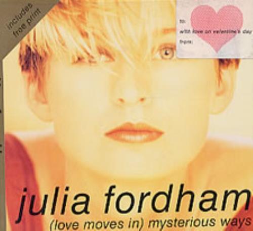 "Julia Fordham Love Moves In Mysterious Ways CD single (CD5 / 5"") UK JULC5LO36352"
