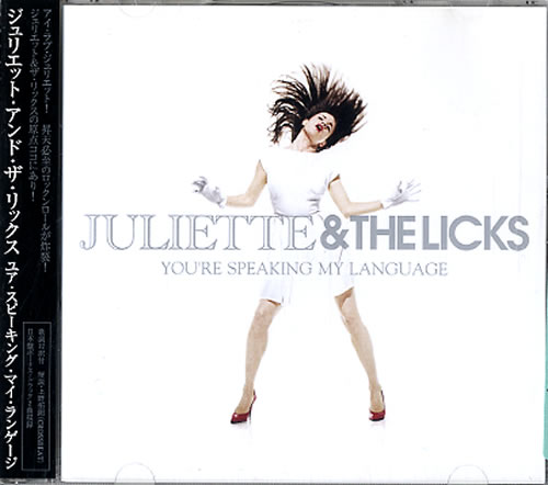 Juliette And The Licks You're Speaking My Language + Obi CD album (CDLP) Japanese JBQCDYO416593