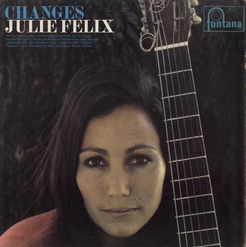 Julie Felix Changes - F/B vinyl LP album (LP record) UK JCWLPCH772400