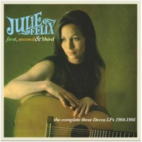 Julie Felix First Second Amp Third Decca Lp S 1964 66