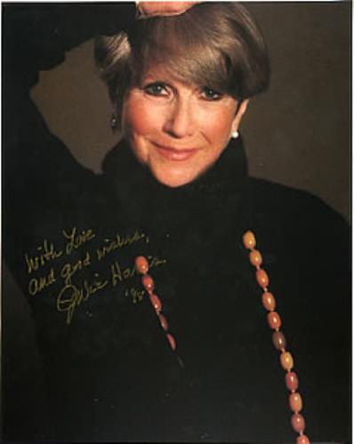 Julie Harris Autographed Portrait Photograph photograph UK JH5PHAU283123