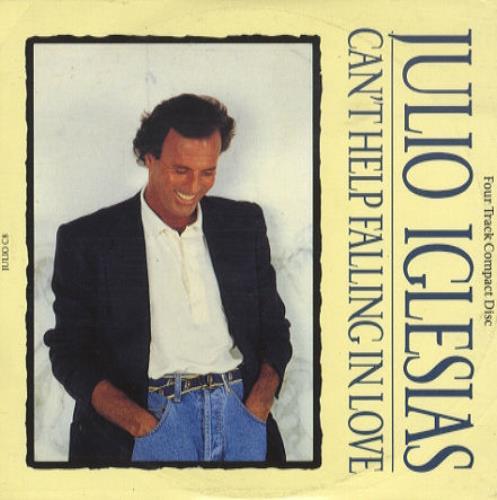 "Julio Iglesias Can't Help Falling In Love CD single (CD5 / 5"") UK IGLC5CA43476"