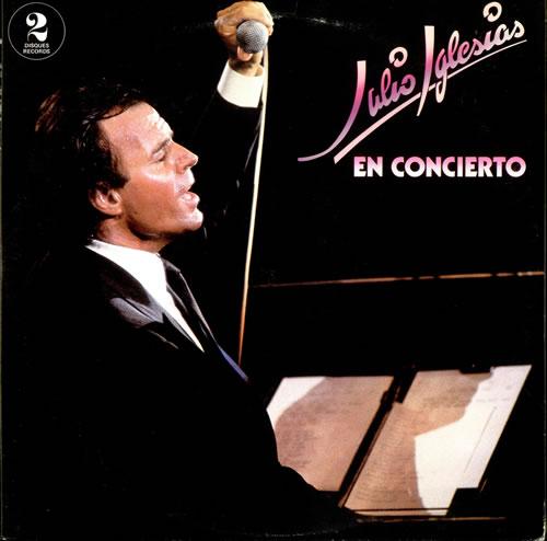 Julio Iglesias En Concierto 2-LP vinyl record set (Double Album) Canadian IGL2LEN523555