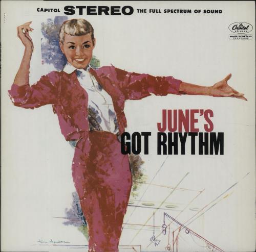 June Christy June's Got Rhythm vinyl LP album (LP record) Spanish JNCLPJU676682