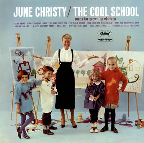June Christy The Cool School - Factory Sample vinyl LP album (LP record) UK JNCLPTH476781
