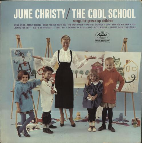 June Christy The Cool School vinyl LP album (LP record) UK JNCLPTH699030