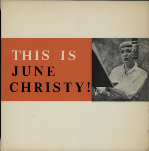 June Christy This Is June Christy! vinyl LP album (LP record) UK JNCLPTH595883