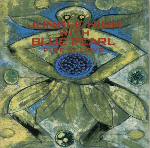 "Jungle High Fire Of Love 12"" vinyl single (12 inch record / Maxi-single) UK K4R12FI629760"